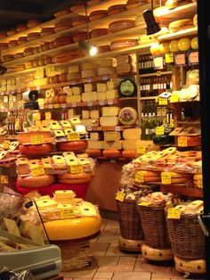 Cheese shop in Amsterdan