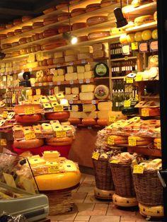 Cheese shop in Amsterdan