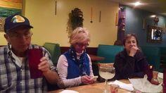 birthday  2014 dinner, Amie, Gail, Debby
