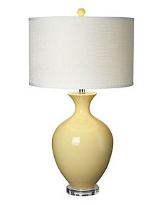 Pacific Coast Table Lamp, Straw Hanford - Bedroom Lighting - for the home - Macys #macysdreamfund