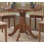 Coaster Furniture - Brannan Oak Round Table - 101091