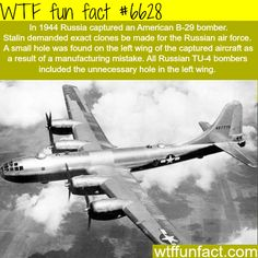 The Russian TU-4 bomber - WTF fun facts
