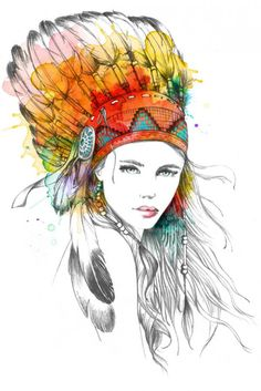Fashion Illustrations by Lutheen