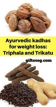 best ayurvedic kadhas for weight loss triphala and trikatu