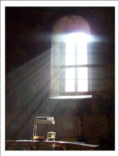 monastery window in Serbia-it's all about the light