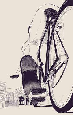 Anton Marrast's Slow Story Drawings  http://roberitatesac.wix.com/roberita-tesac