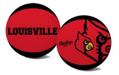 NCAA Louisville Cardinals Alley Oop Youth Size Basketball by Rawlings by Rawlings. $13.48. Alternating team color panels. High quality vulcanized rubber. Features school colors, team logo and name. Youth Size Basketball. While you drive to the basket with this youth-size Louisville Cardinals  pebble basketball, you can feel confident in the quality that has been provided by Rawlings for more than 100 years. The Cardinals logo and Rawlings brand is embossed on the quality in...