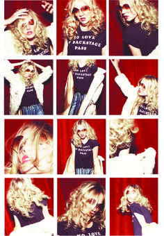 """It's All Happening!  Nothing says Wildfox girl like the 1970's, the Wildfox line was practically  created based on mine and Emilys love for vintage T shirts. We are in love  with Cameron Crowe's """"Almost Famous"""" and all the stories of rock n roll  concerts, so what better way to tell the story of Fall 2011 than through  1970s Rock Groupies? These backstage babes are the quintessential Wildfox  girl! They follow the music with only a suitcase and their best friends,  they ..."""