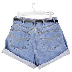 Gleader Donne ragazza di modo Jeans a vita alta Oversize Jeans orlo con risvolto pantaloncini-S (blu chiaro) in OFFERTA su www.kellieshop.com Scarpe, borse, accessori, intimo, gioielli e molto altro.. scopri migliaia di articoli firmati con prezzi in SALDO #kellieshop Seguici su Facebook > https://www.facebook.com/pages/Kellie-Shop/332713936876989