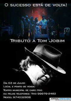 JORNAL O RESUMO - EVENTO - JORNAL O RESUMO: Tributo a Tom Jobim - 2° EDIÇÃO