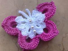 Farfalla uncinetto anche in altri colori !!!!!