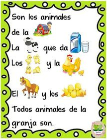 Pre Kindergarten, Kindergarten Activities, Spanish Teaching Resources, Spanish Songs, Spanish Vocabulary, Bilingual Education, Art Activities For Kids, Spanish Classroom, Baby Learning