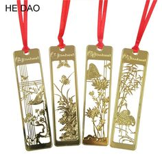 Chinese Style Vintage Bookmark