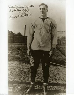 Notre Dame Greatest Back George Gipp The Gipper From Laurium Michigan MUST SEE