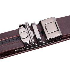 dfa7289e1f7 Luxusné módne doplnky. Pánsky opasok z prírodnej kože s automatickou ...