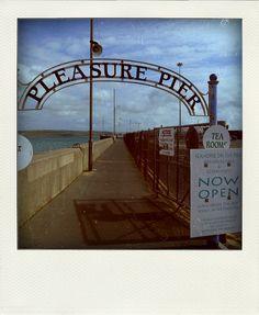 Pleasure pier, Wemouth. From Flickr.