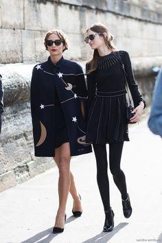 All black street style.