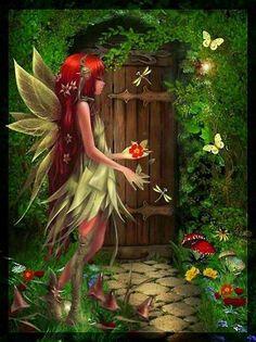 Elfes , Fées et fantaisie. # 5119