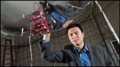 Georgia Tech Lab Develops Micro Blimps for Indoor Navigation and Sensing