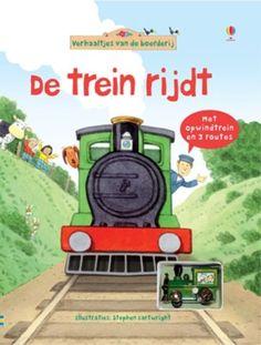 De trein rijdt