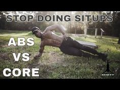 Explanation on the difference between training your abs vs. training your core. [VIDEO]