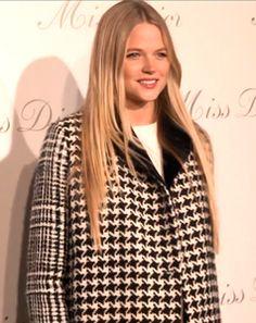 Gabriella Wilde. At Miss Dior exhibition. WATCH http://youtu.be/dZCU4tqRQ5c #missdior #dior #art #carrie #model #actress