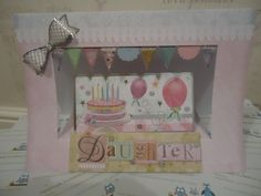 Daughter - cake and balloons £2.50