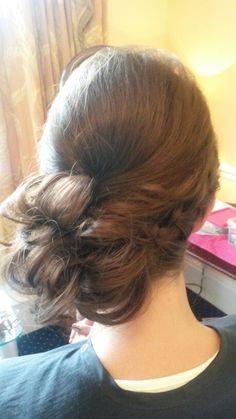 Hair by Sandra Jones #hair #hairup #bridesmaid #prom #hairstyle #hairstylist #hairupdo #hairups #wedding #prom #weddinghair #bridal #bridesmaid #plaits
