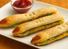WITCHES FINGER SANDWICHES