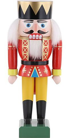 German Christmas Nutcracker King  19 cm  Authentic German Erzgebirge Nutcrackers  KWO ** Read more reviews of the product by visiting the link on the image.