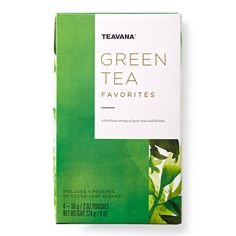 Enjoy all of green tea's goodness with this brilliant array of 4 pure teas and blends (each tea size is 2 oz.):