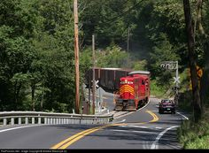 RailPictures.Net Photo: PREX 107 Gettysburg & Northern Railroad EMD GP9 at Mount Holly Springs, Pennsylvania by Andrew Blaszczyk (2)