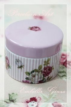 『Porcelain Art~ポーセリンアート1DayレッスンⅠ【オシャレ小物入れ】』