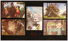 "Mini Carte ghibli totoro kiki chihiro arrietty ponyo mononoké asiatique ""modéle 5"" x1 : Papeterie, carterie par lilycherry"