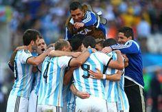 Las fotos del gol de Ángel Di María - Goal.com - Goal.com