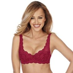 Brand new Triumph Amourette 300 WHP bra in Rumba Red colour code Balconette Bra, Red Color, Colour, Wacoal, Underwear, Brand New, Lingerie, Lace, Bing Images