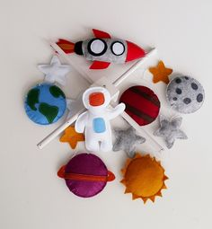 Baby Crib Mobile Baby Mobile Space Mobile Planets Mobile Astronaut MobileSolar system Felt RocketBaby GiftFelt MobileReady to Ship Felt Mobile, Baby Crib Mobile, Baby Cribs, Cute Gifts, Baby Gifts, Planet Mobile, Airplane Mobile, Crochet Baby Mobiles, Space Planets