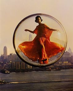 bubble lady - slim aarons