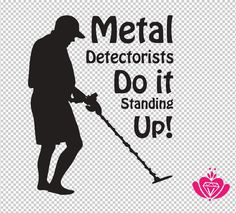 Is metal detecting your hobby? Car vinyl sticker available in various colours.