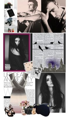 """And if I may just take your breath away, I don't mind if there's not much to say."" by giannanoelle ❤ liked on Polyvore"
