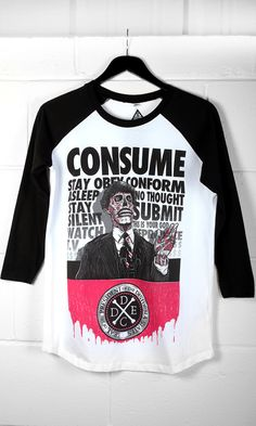 Photo of Consume Raglan Black Dahlia, Raglan, Diy Clothing, Grunge Outfits, Alternative Fashion, Punk, Personal Style, Absolute Zero, Street Wear