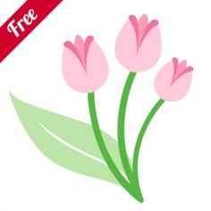 Tulip Flower  Zip Folder Contains:    1 SVG Cut File.  1 DXF Cut File.  1 GSD Cut File.  1 MTC Cut File.  1 .studio Silhouette Cut File.