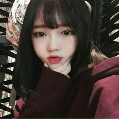 Image about girl in ulzzang by sakura on We Heart It Ulzzang Korean Girl, Cute Korean Girl, Cute Asian Girls, Beautiful Asian Girls, Cute Girls, Korean Beauty, Asian Beauty, Uzzlang Girl, Lily Collins