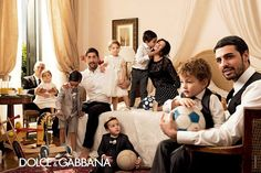 Dolce & Gabbana SS 2014 by Domenico Dolce l #fashion #children
