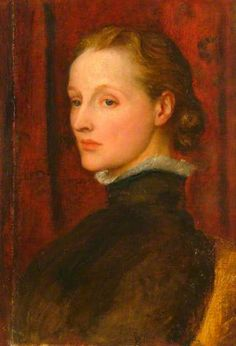 Mrs G. F. Watts by George Frederic Watts   Watts Gallery Date painted: 1887
