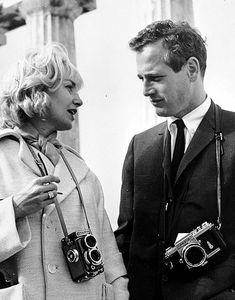 Joanne Woodward & Paul Newman  -- 写真が裏焼き