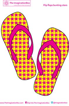 Design your own flip flops!! ....,.follow for FREE 'too-neat-not-to-keep' teaching tools & other fun stuff :)