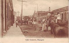 Calle Comercio Mayaguez  c1900-1910