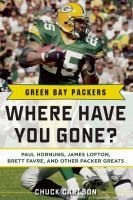 LINKcat Catalog › Details for: Green Bay Packers where have you gone? :