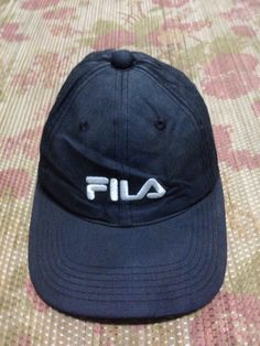 vtg FIla cap casual adjustable style by JunkMyHearts on Etsy